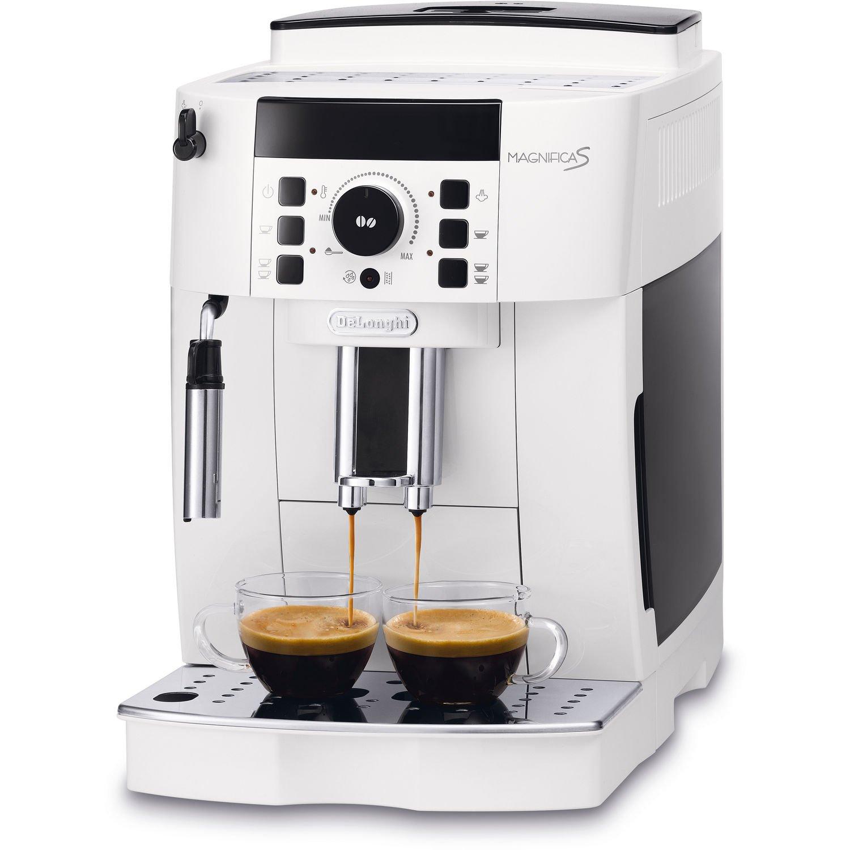 DeLonghi - Magnifica Bean-to-Cup Coffee Machine, White