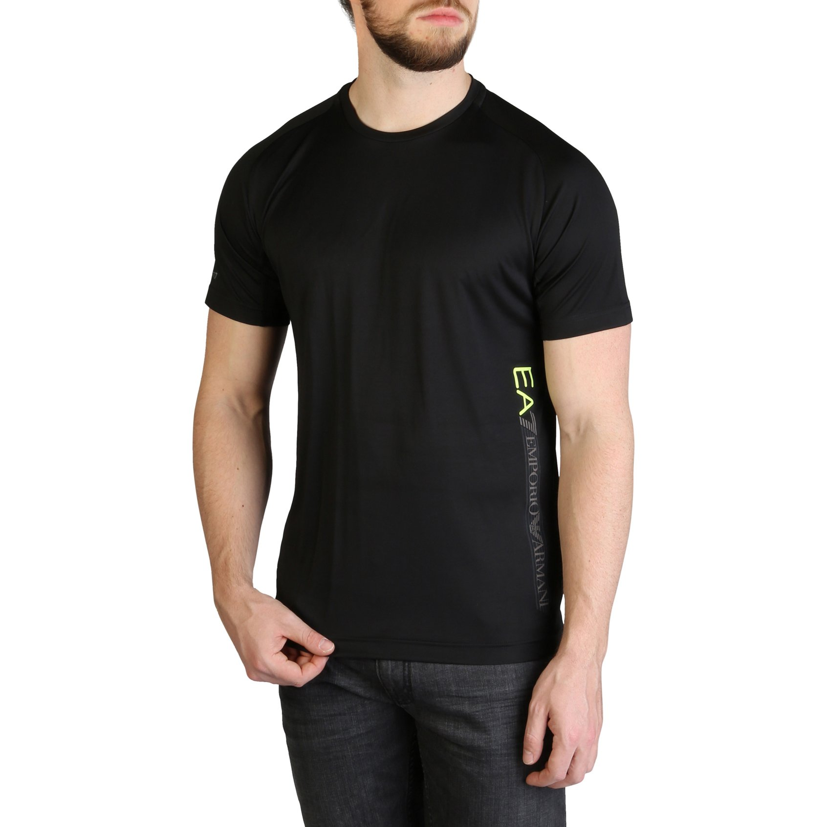 EA7 Men's T-Shirt Various Colours 3GPT44_PJH6Z - black-1 S