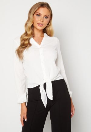 Happy Holly Lina knot blouse Offwhite 40/42