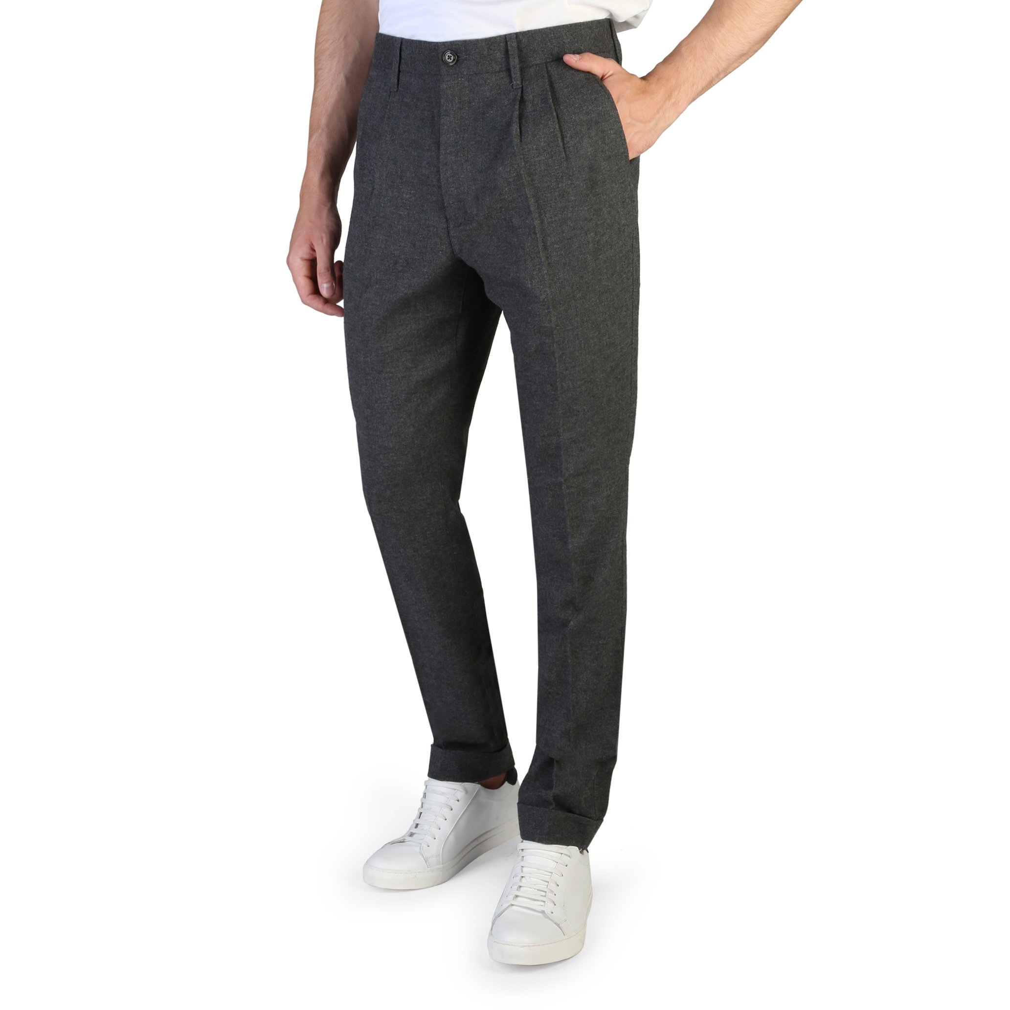 Tommy Hilfiger Men's Trouser Grey MW0MW08475 - grey-1 40
