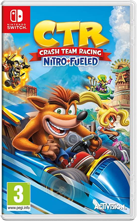 Crash Team Racing Nitro-Fueled (ENG/FR)