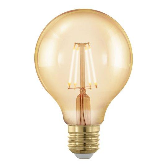 LED-globe-lamppu E27 G80 4W filamentti 1 700K gold