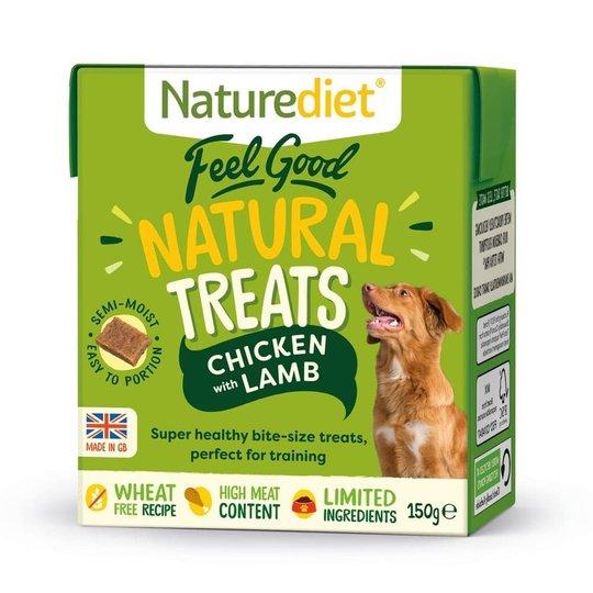 Naturediet Treat Kyckling & Lamm 150 g