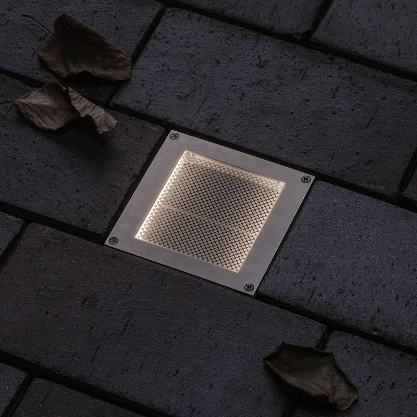 Paulmann Brick -LED-uppovalo, 10 x 10 cm