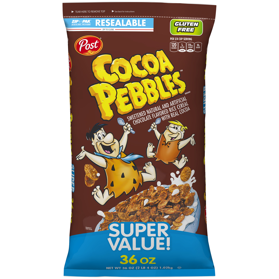 Post Cocoa Pebbles Cereal 1kg
