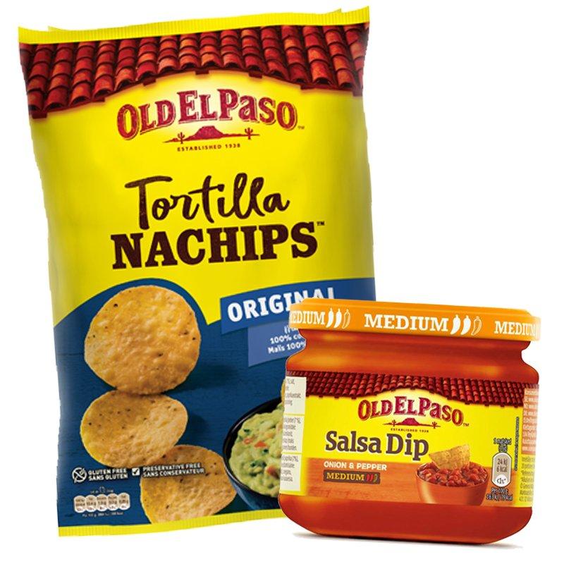 Nachosipsit & Salsa - 90% alennus