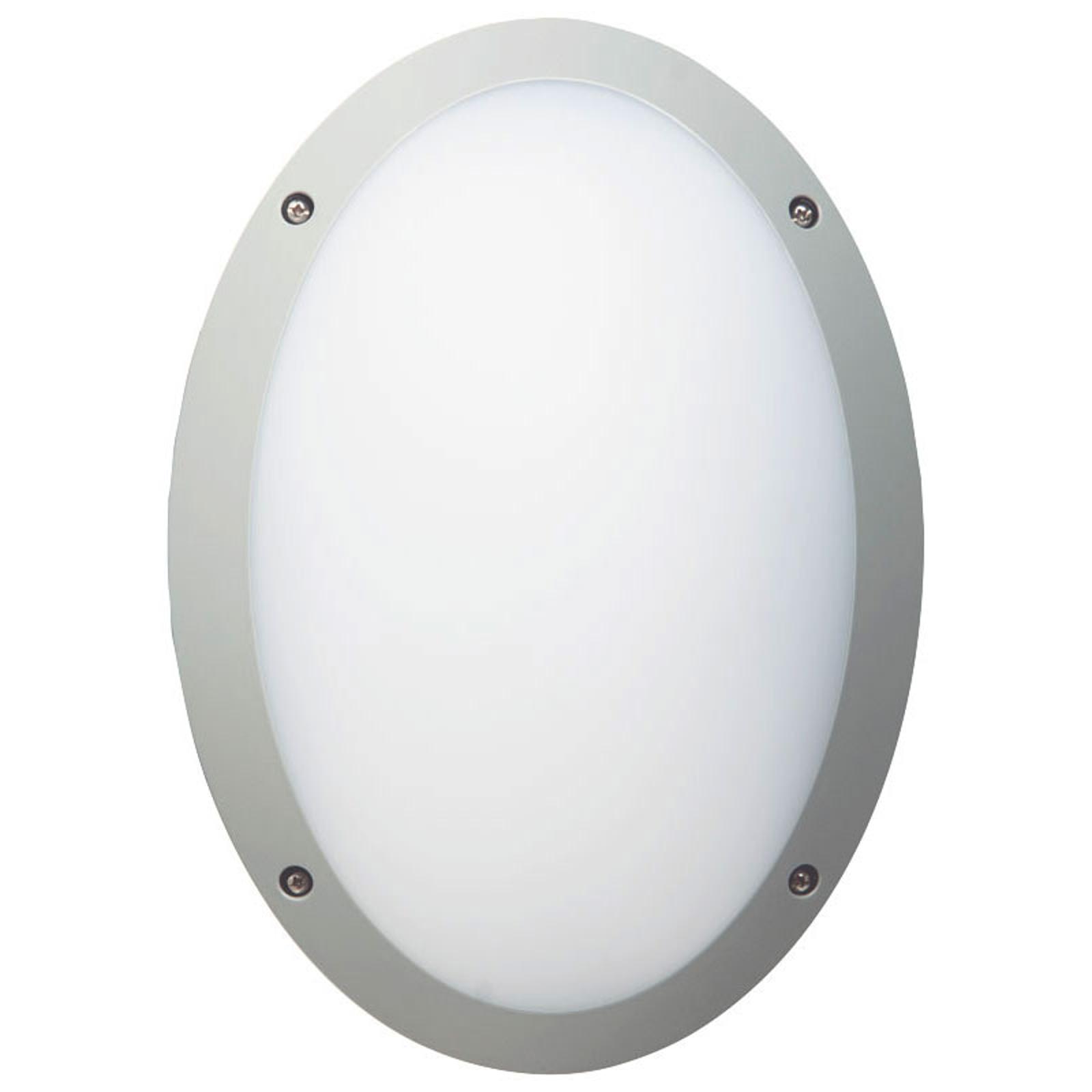 LED-seinävalaisin Fonda, ovaali, IP66