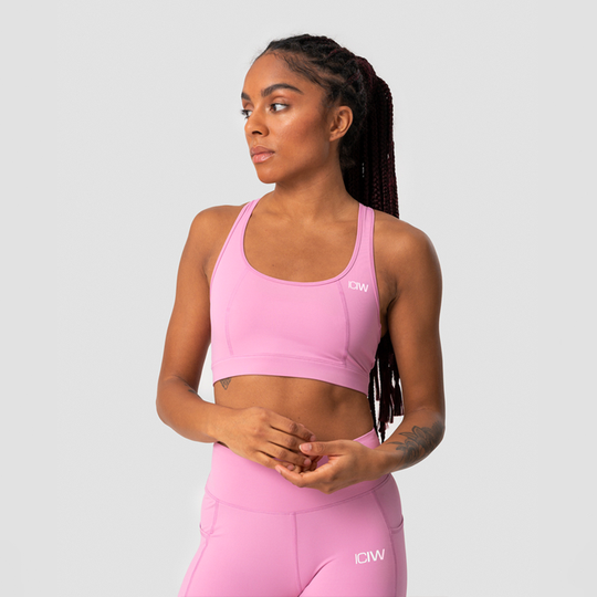 Classic Sports Bra, Dusty Pink