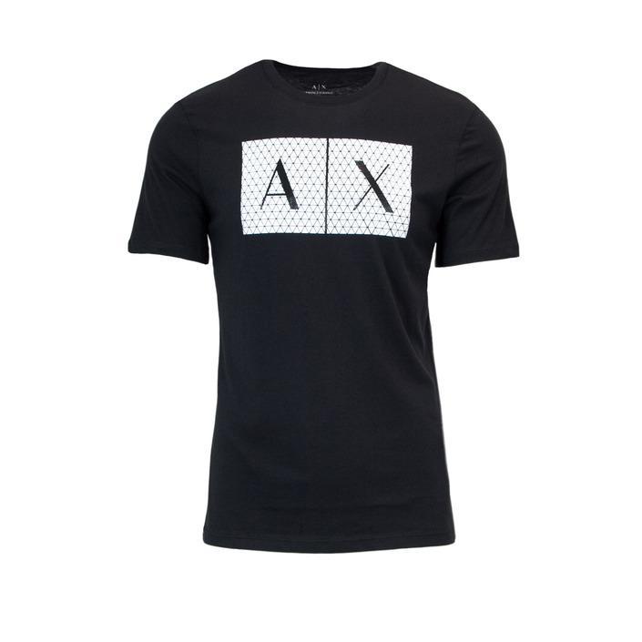 Armani Exchange Men's T-Shirt Black 166091 - black XS