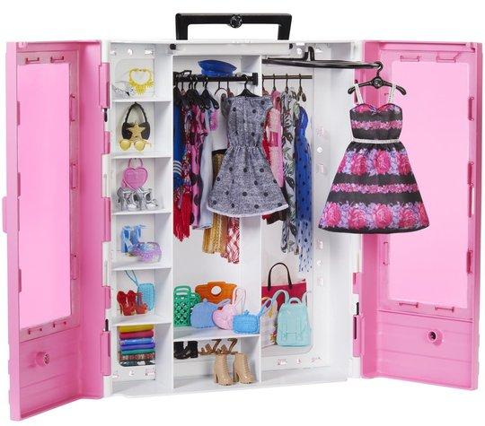 Barbie Fashionistas Klesskap Og Tilbehør
