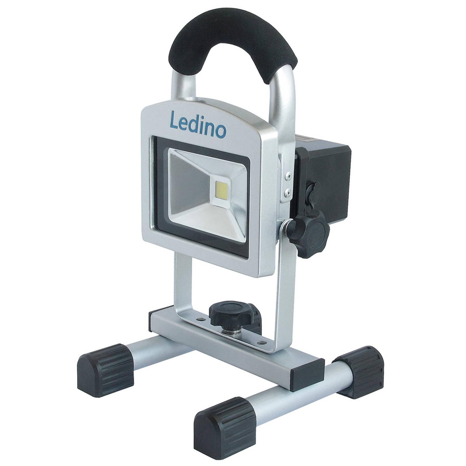 LED-arbeidslampe Köpenick 102 mag.føtter 2,2Ah 10W