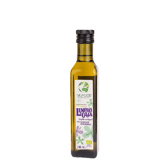 Ekologisk Linfröolja, 250 ml