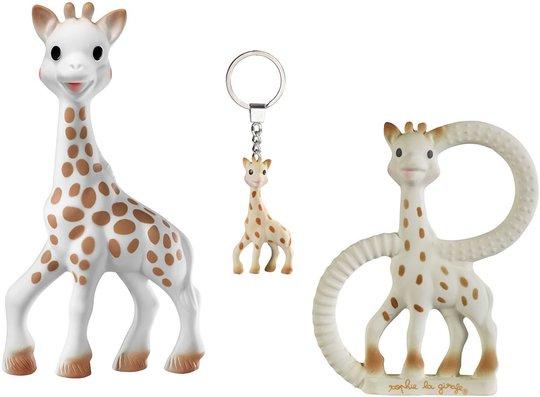 Sophie the Giraffe So Pure Triosett