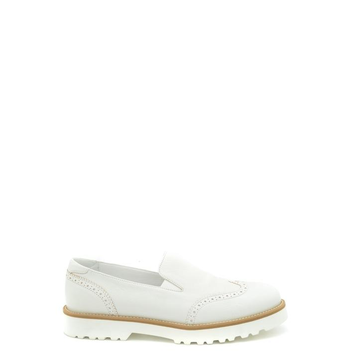 Hogan Women's Flat Shoe White 165549 - white 36