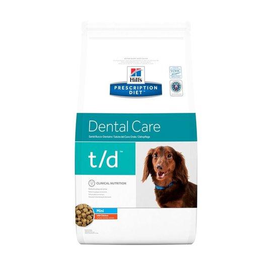 Hill's Prescription Diet Canine t/d Dental Care Mini Chicken 3 kg