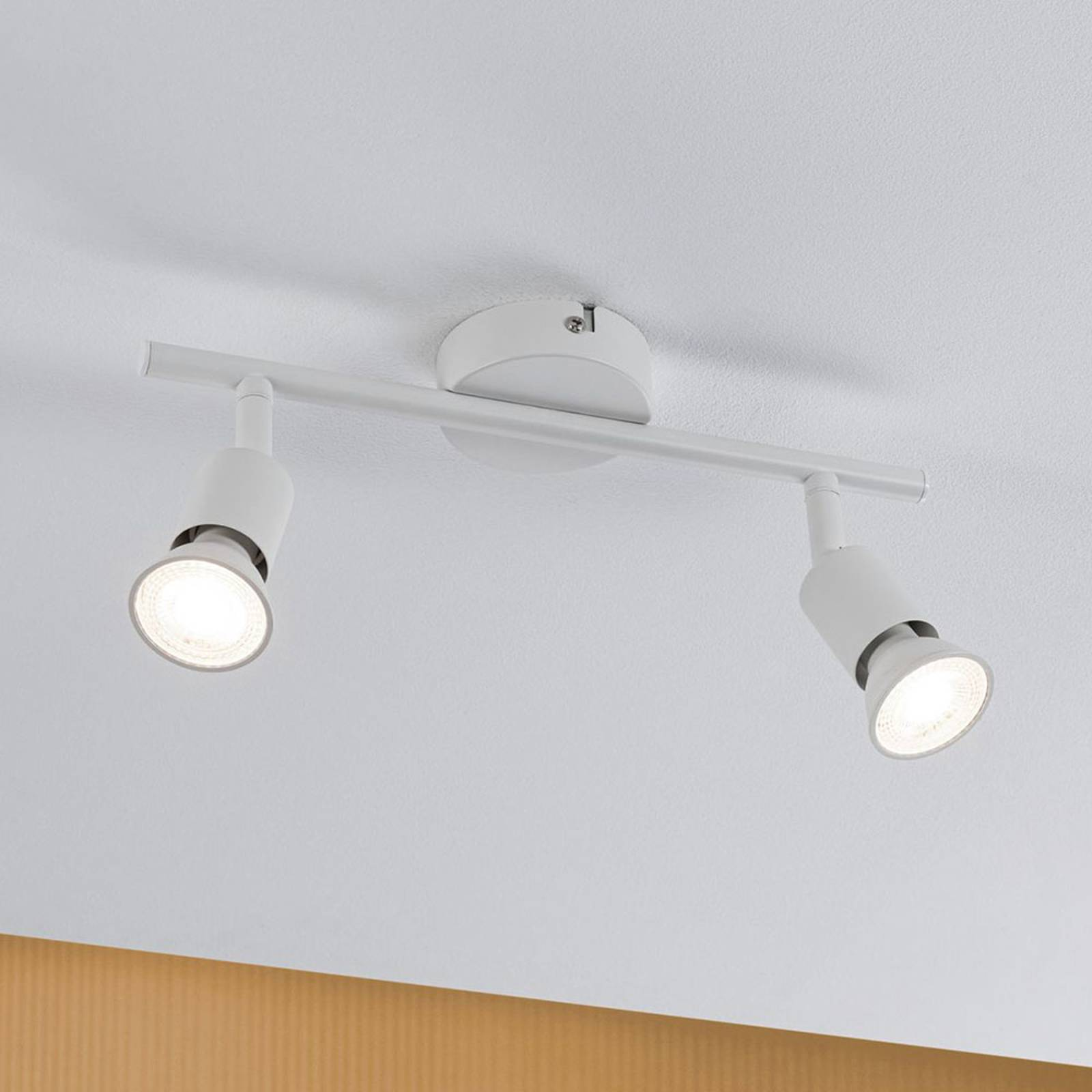 Paulmann Carolina -kattokohdevalo, 2-lamppuinen