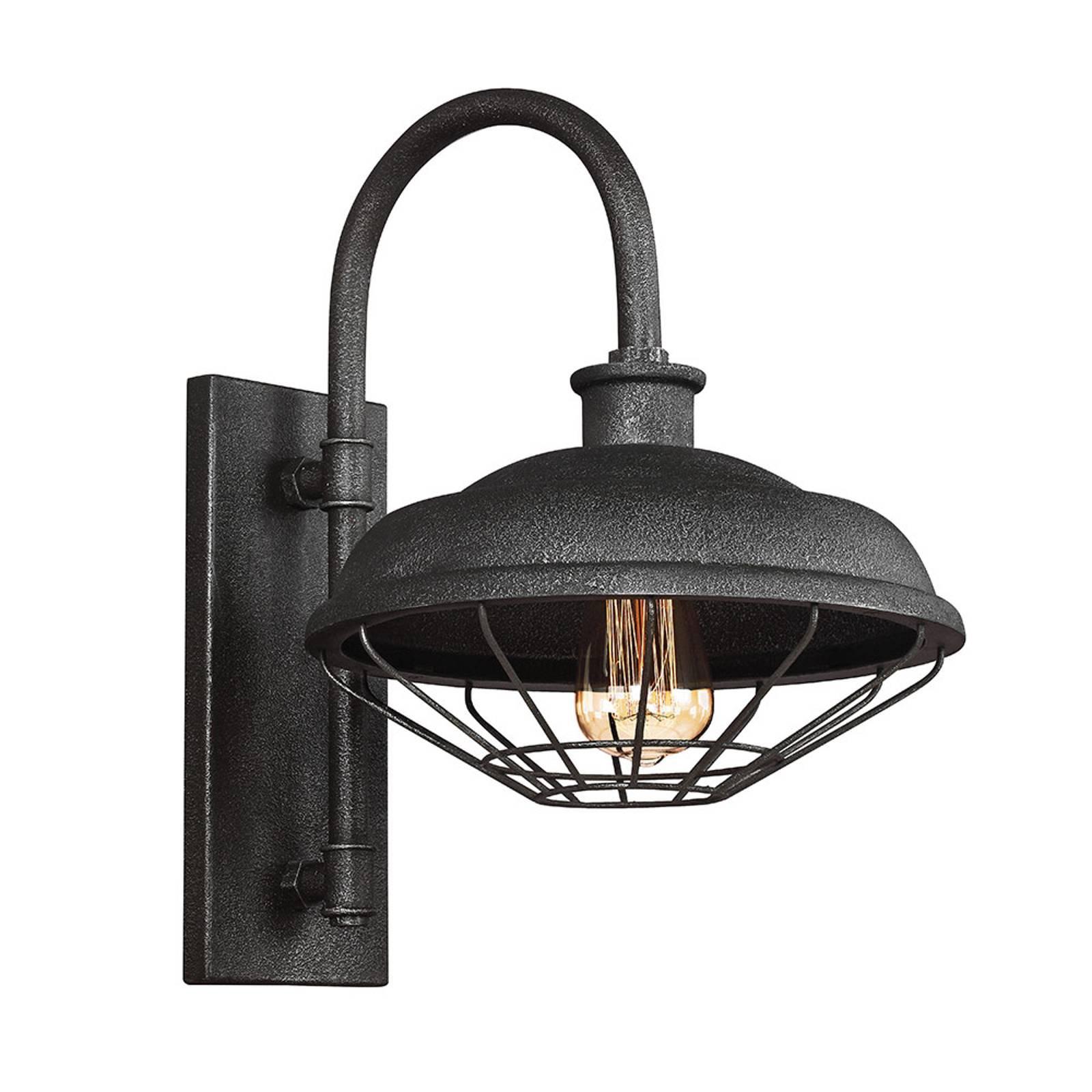 Vegglampe Lennex i industriell stil