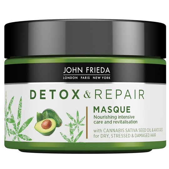 Detox & Repair Masque, 250 ml John Frieda Tehohoidot