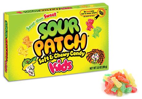 Sour Patch Kids box 99gram