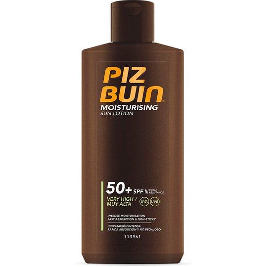 PIZ BUIN Moisturising Sun Lotion SPF 50+, 200 ml Piz Buin Aurinkovoiteet