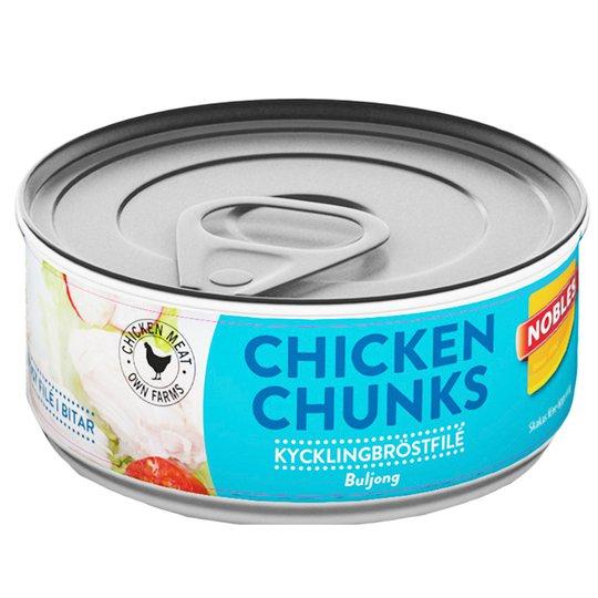 "Kycklingbitar i Buljong ""Chicken Chunk"" 160g - 17% rabatt"