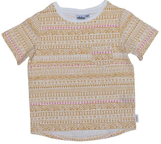 Ebbe Chris T-Skjorte, Golden Ink Str 116