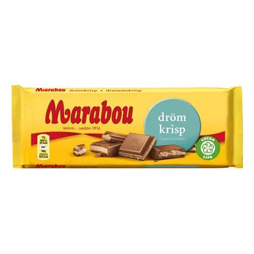 Marabou Drömkrisp Chokladkaka - 100 gram