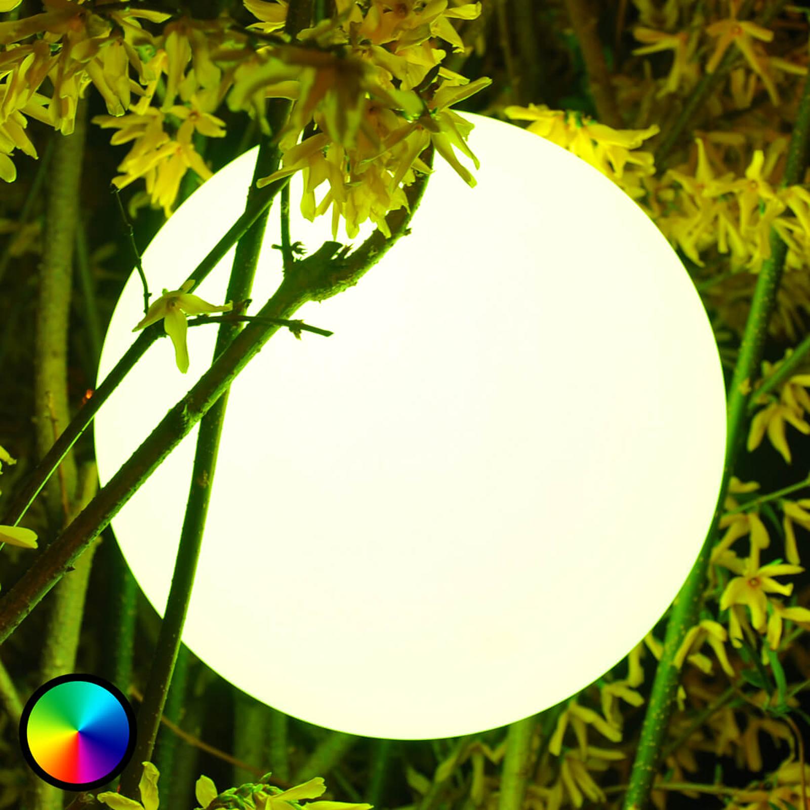 Pearl – LED-kuulavalaisin, ohjattavissa kännykällä