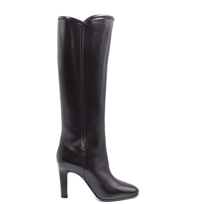Saint Laurent Women's Boot Brown 234694 - brown 35.5