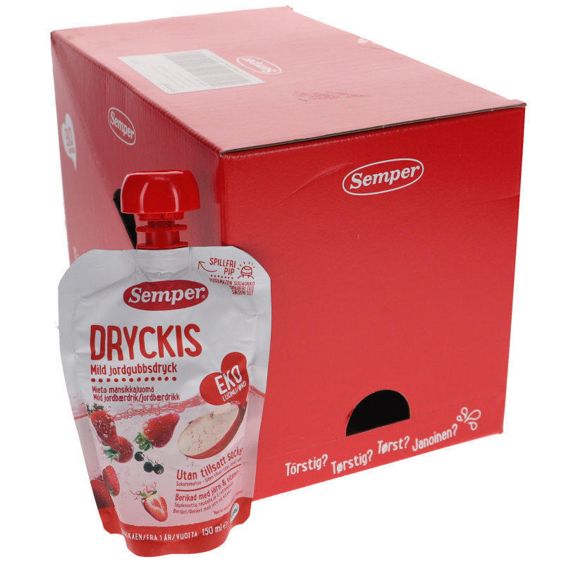 Dryckis Jordgubb 10-pack - 47% rabatt