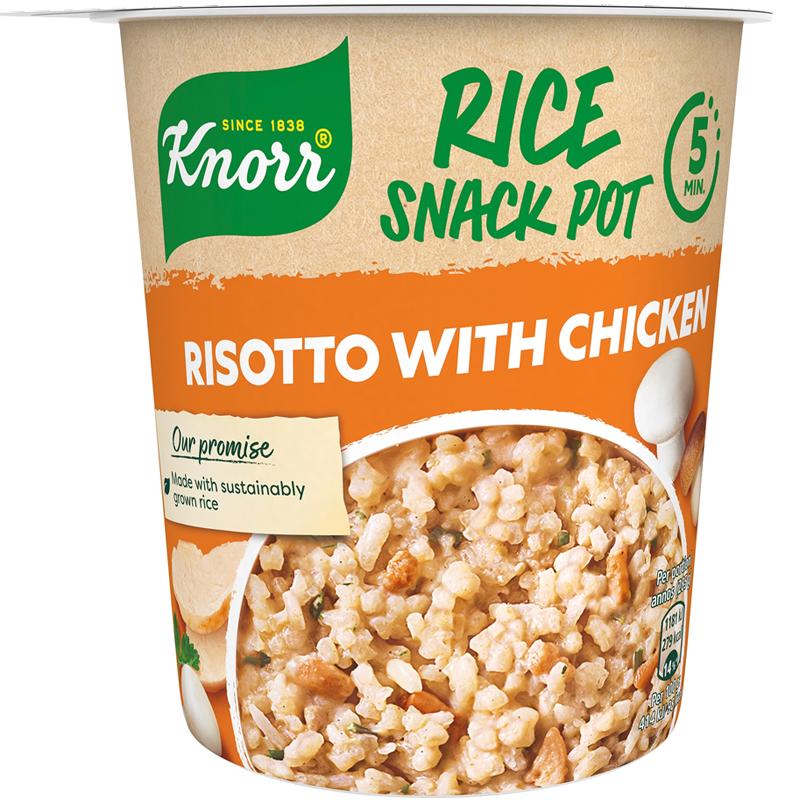 Snack Pot Risotto Kana - 18% alennus