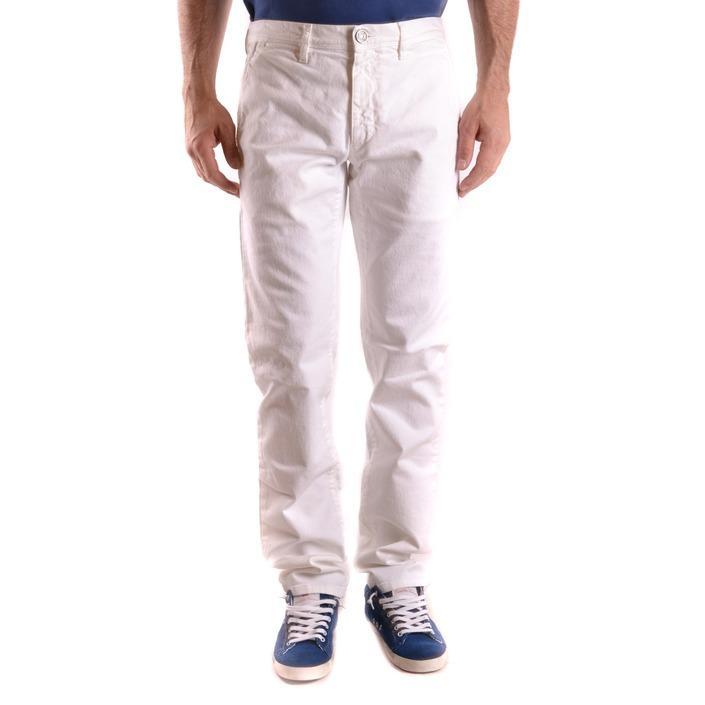 Bikkembergs Men's Trouser White 186752 - white 48
