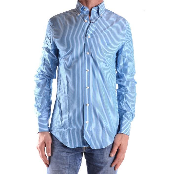 Gant Men's Shirt Blue 161087 - blue S