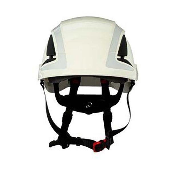 3M SecureFit X5001VE Vernehjelm dobbelt godkjenning, ventilert, 1000V Hvit