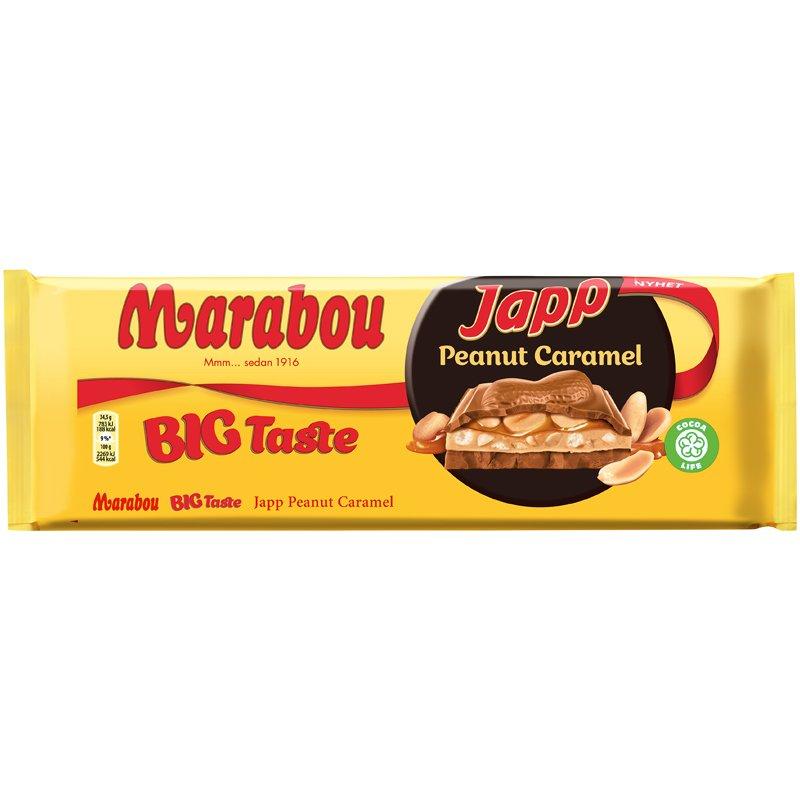 Japp Peanut Caramel - 33% rabatt