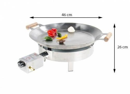 GrillSymbol Stekehelle Gasol Pro-460