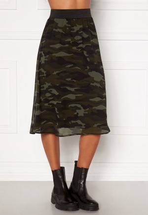 Happy Holly Zoey asymmetric skirt Camouflage 32/34