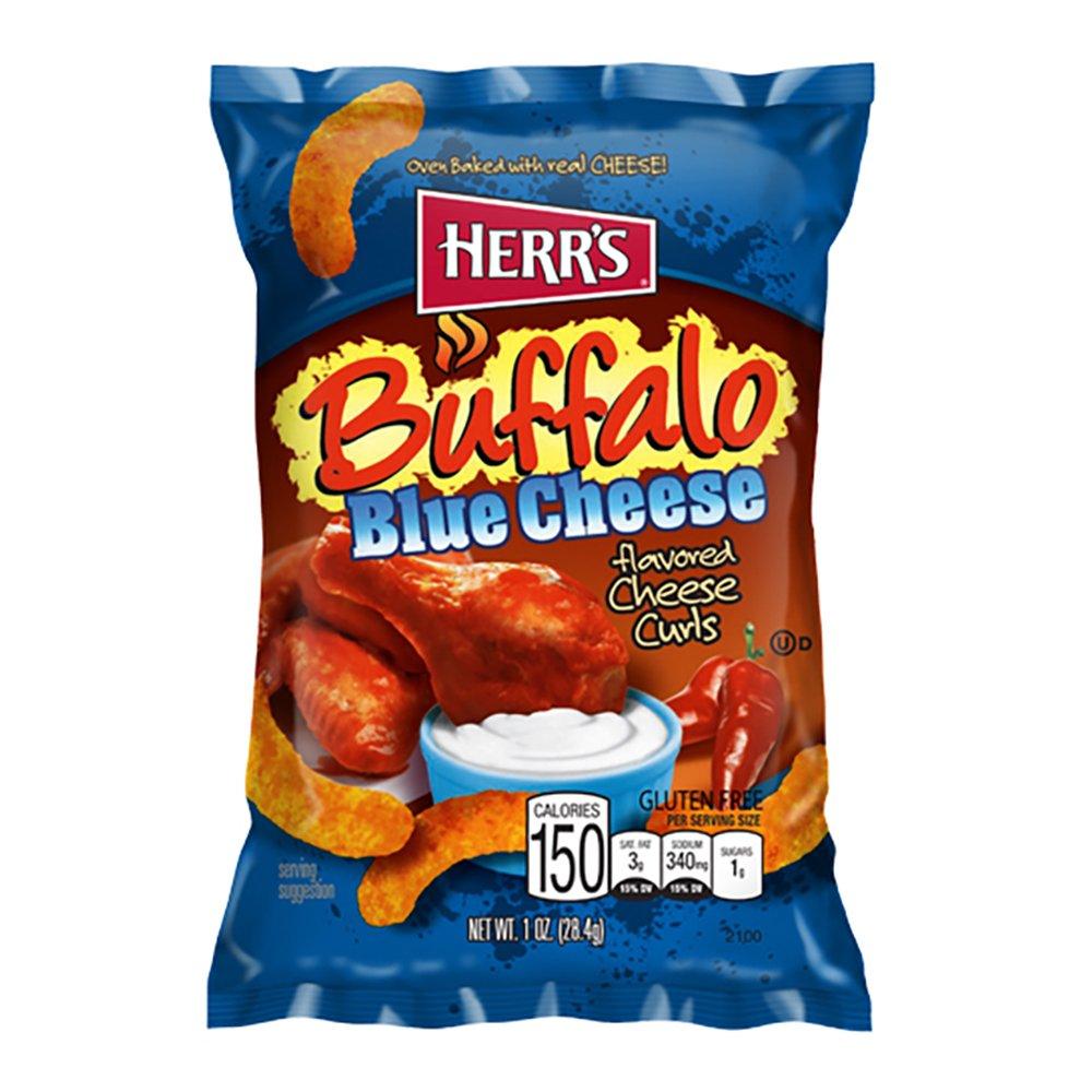 Herr's Buffalo Blue Cheese - 198 gram