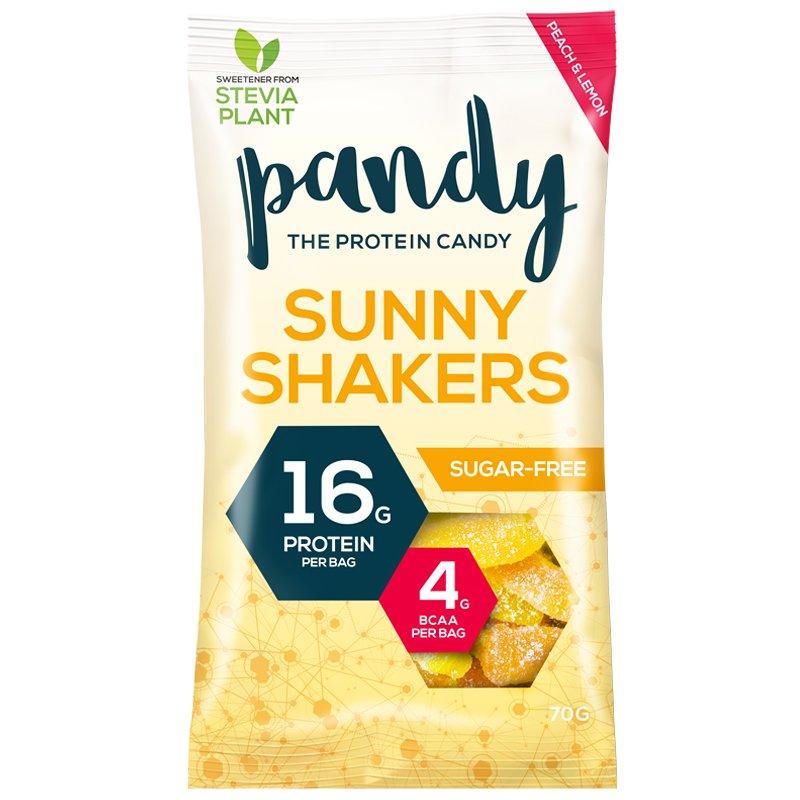 """""""Sunny Shakers"""" Proteiinimakeisia 70g - 40% alennus"""