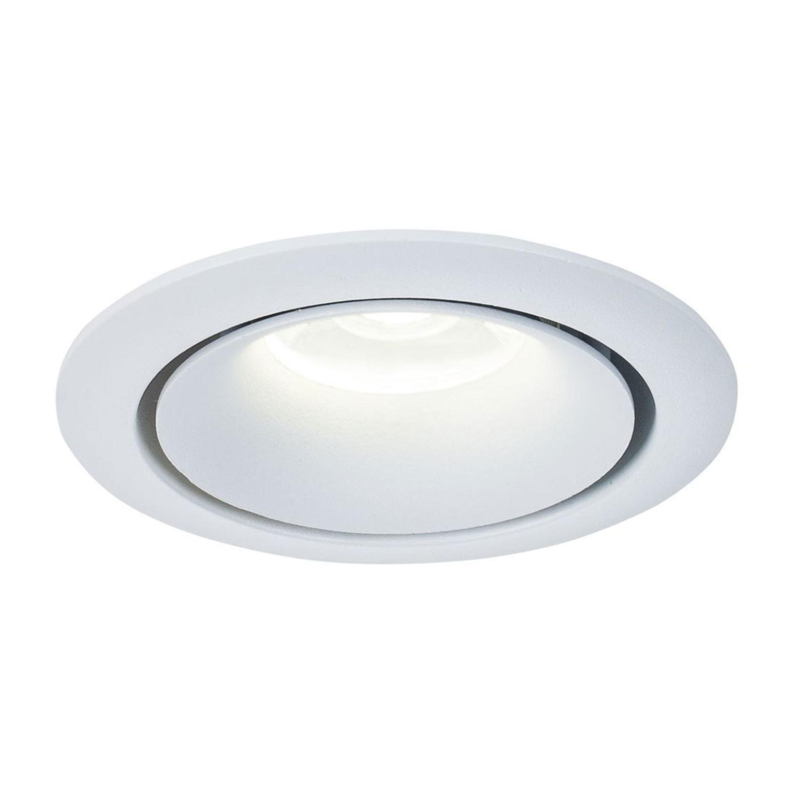 Uppokohdevalo Yin, jossa alumiinikehys valkoisena