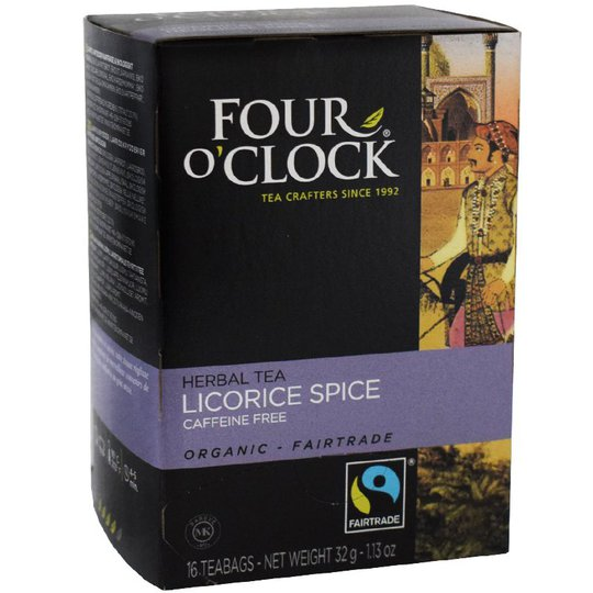 Lakrits & Krydd Te, Eko Fairtrade 16p - 38% rabatt