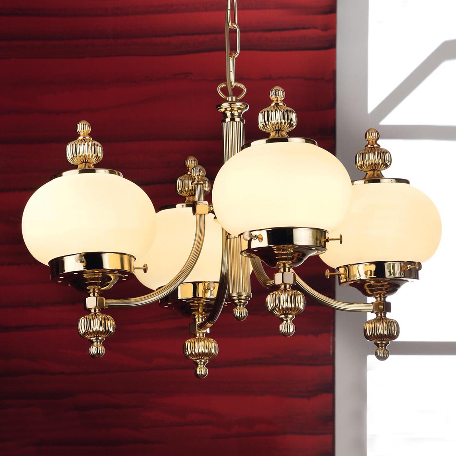 Klassinen Ophelia-kattokruunu, 4-lamppuinen