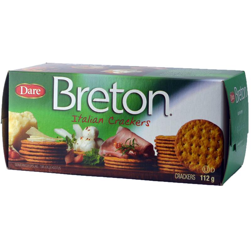 "Kex ""Italian Crackers"" 112g - 70% rabatt"