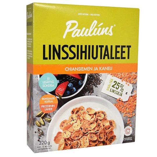 Frukostflingor Röda Linser, Chiafrön & Kanel - 43% rabatt