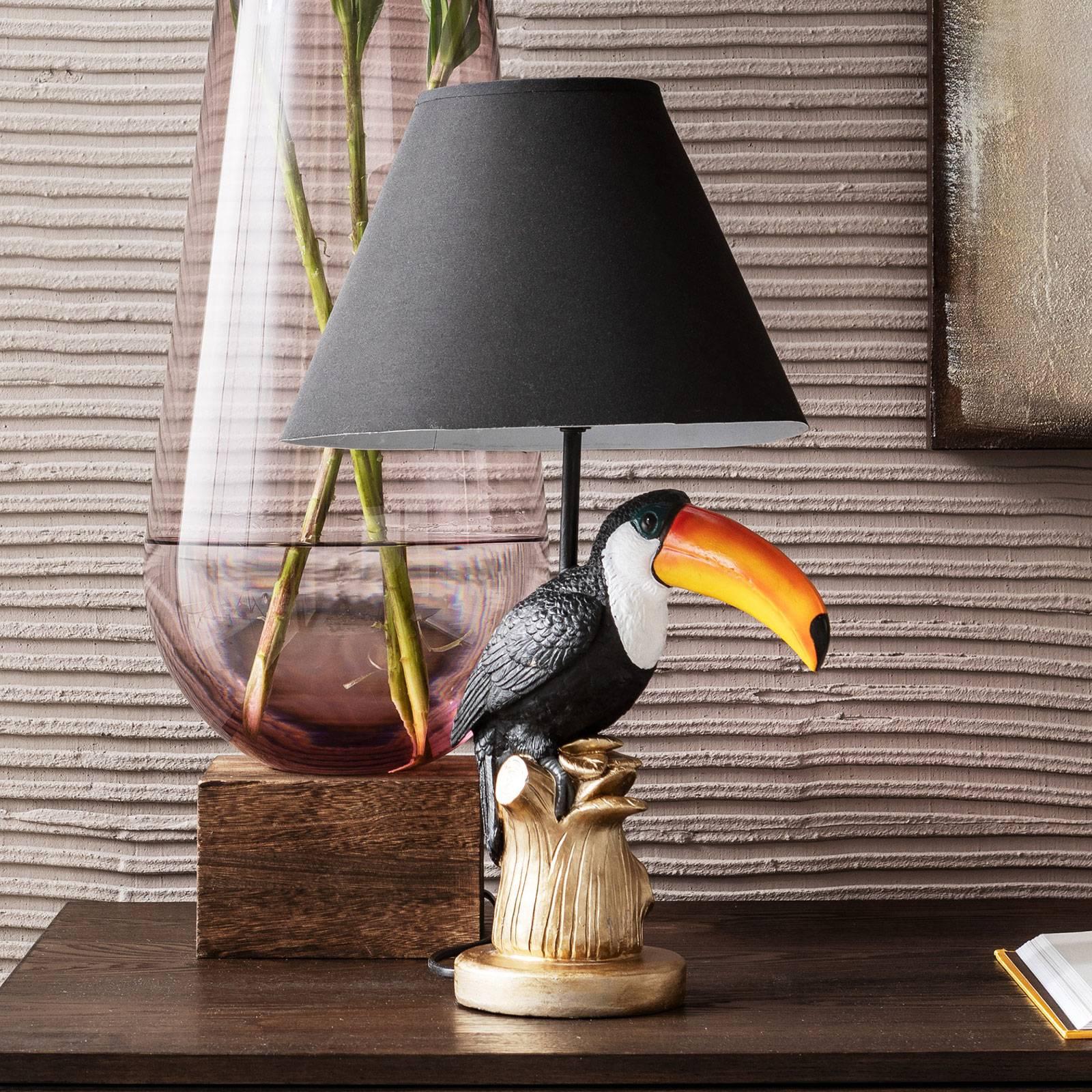 KARE Toucan -pöytävalaisin upealla muotoilulla