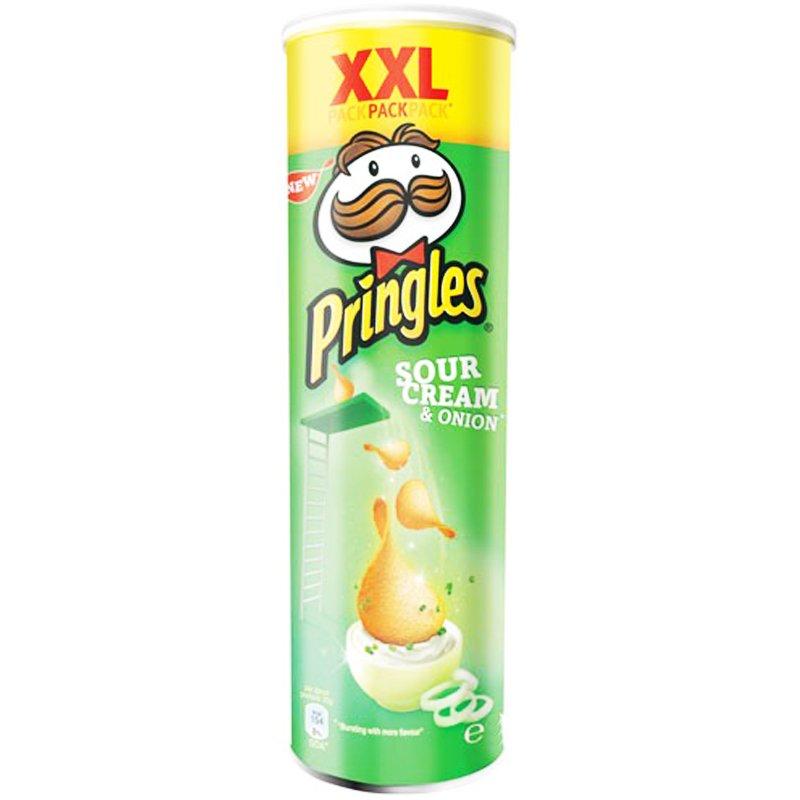 "Pringles XXL- Perunalastut ""Sour Cream & Onion"" 210g - 18% alennus"