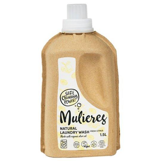 Mulieres Naturligt Tvättmedel Fresh Citrus, 1,5 L