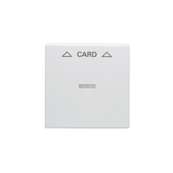 ABB 1792-84 Keskiölevy korttikytkimelle valkoinen