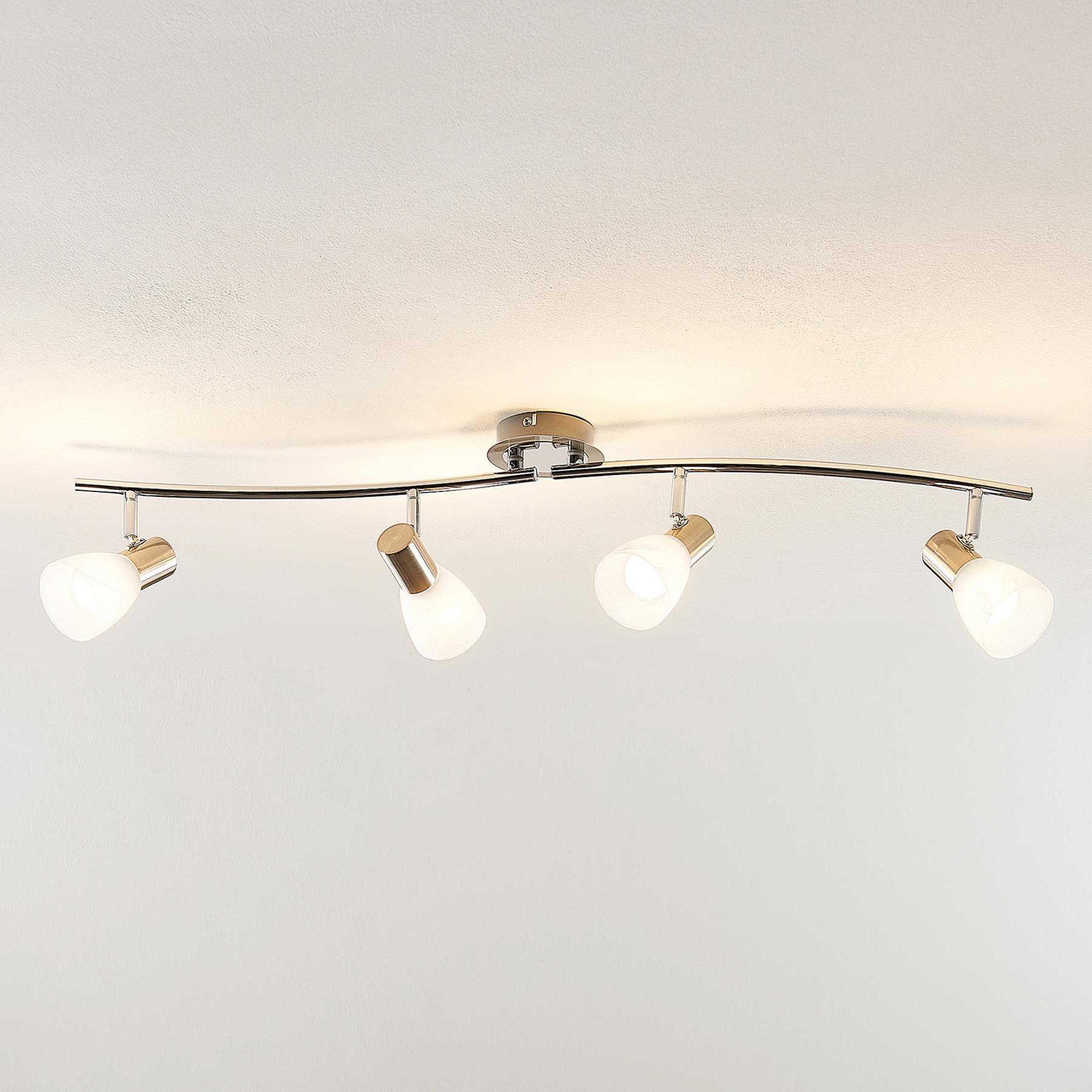 ELC Kamiran -LED-kattokohdevalo, 4-lamppuinen