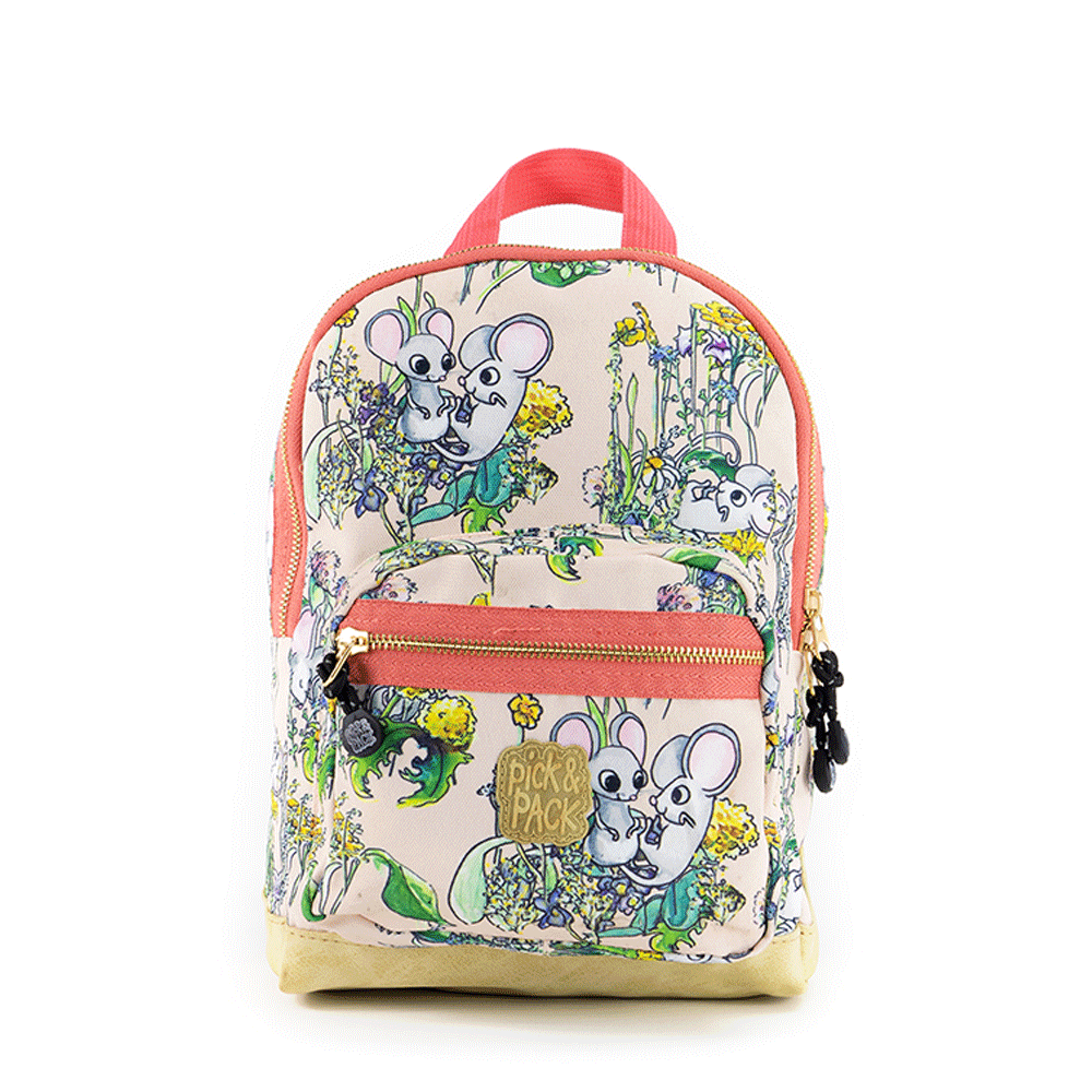 Pick & Pack - Backpack 10 L - Mice Pink (515080)